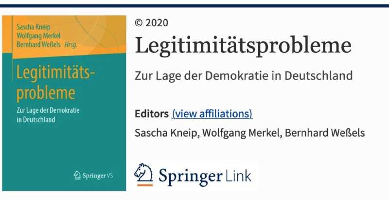 Buchcover bei Springer